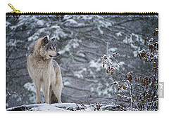 Timber Wolf Pictures 189 Carry-all Pouch