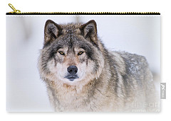 Timber Wolf Pictures 256 Carry-all Pouch