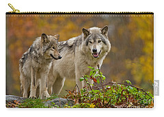Timber Wolf Pictures 411 Carry-all Pouch