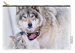 Timber Wolf Pictures 56 Carry-all Pouch