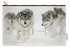 Timber Wolf Pictures 65 Carry-all Pouch