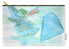 Carry-all Pouch featuring the painting Time Flying By  by Asha Carolyn Young