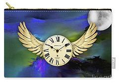 Time Carry-all Pouch by Marvin Blaine