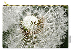 Carry-all Pouch featuring the photograph Time To Fly by Liz  Alderdice