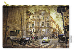 Time Traveling In Palermo - Sicily Carry-all Pouch