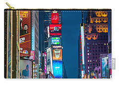 Times Square I Carry-all Pouch by Ray Warren