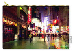 Times Square New York - Nanking Restaurant Carry-all Pouch