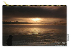Timothy Lake Mysterious Sunrise 2 Carry-all Pouch