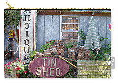 Tin Shed Apalachicola Florida Carry-all Pouch