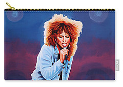 Tina Turner Carry-all Pouch by Paul Meijering
