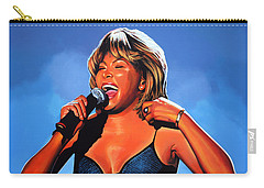Tina Turner Queen Of Rock Carry-all Pouch