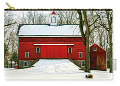 Tinicum Barn In Winter II Carry-all Pouch