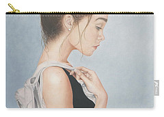 Carry-all Pouch featuring the painting Tiny Dancer by Dee Dee  Whittle