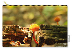 Tiny Mushroom Carry-all Pouch