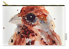 Tiny Sparrow Carry-all Pouch by Dawn Derman