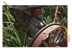 Carry-all Pouch featuring the photograph Tireless by Meghan at FireBonnet Art