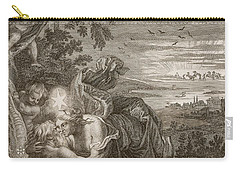 Tithonus, Auroras Husband, Turned Into A Grasshopper Carry-all Pouch by Bernard Picart