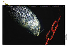 Carry-all Pouch featuring the photograph To A Pier  by Micki Findlay