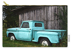 To Be Country - Vintage Vehicle Art Carry-all Pouch by Jordan Blackstone