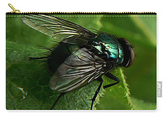 To Be The Fly On The Salad Greens Carry-all Pouch
