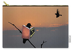 Mockingbird Carry-All Pouches