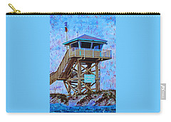 Carry-all Pouch featuring the painting To The Beach by Deborah Boyd