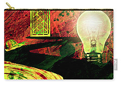 Carry-all Pouch featuring the mixed media To The Light by Ally  White