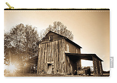 Tobacco Barn In Sunset Carry-all Pouch