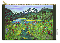 Todd Lake Mt. Bachelor Carry-all Pouch