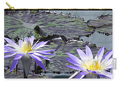 Carry-all Pouch featuring the photograph Together Is Beauty by Chrisann Ellis