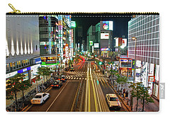 Tokyo Neon Streaks Carry-all Pouch