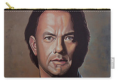 Tom Hanks Carry-all Pouch by Paul Meijering