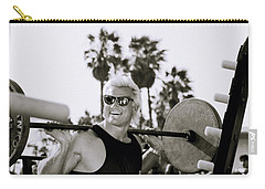 Tom Platz In Los Angeles Carry-all Pouch