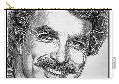 Tom Selleck In 1984 Carry-all Pouch