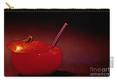 Tomato Juice Carry-all Pouch by Sharon Elliott