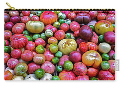Carry-all Pouch featuring the photograph Tomatoes by Bill Owen
