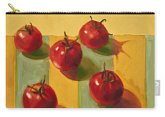 Tomatoes Carry-all Pouch by Cathy Locke