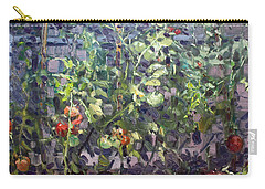 Tomatoes In Viola's Garden  Carry-all Pouch