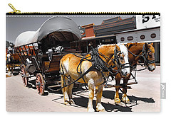 Tombstone Wagon Carry-all Pouch
