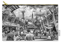 Carry-all Pouch featuring the photograph Tomorrowland by Howard Salmon