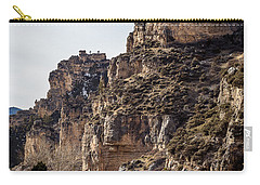Carry-all Pouch featuring the photograph Tongue River Canyon by Michael Chatt