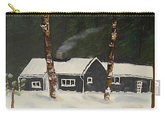 Tonys House In Sweden Carry-all Pouch by Pamela  Meredith