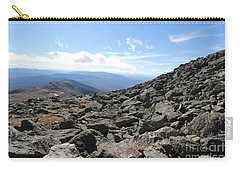 Top View Mt Washington Carry-all Pouch