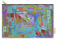 Topographic Albatross Carry-all Pouch by Tim Allen