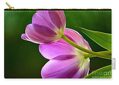 Topsy-turvy Tulips Carry-all Pouch by Deb Halloran
