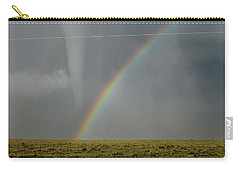 Tornado And The Rainbow Carry-all Pouch