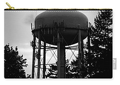 Carry-all Pouch featuring the photograph Tornado Tower by Aaron Berg