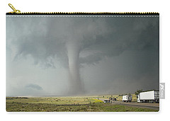 Tornado Truck Stop Carry-all Pouch by Ed Sweeney