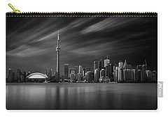 Toronto Skyline - 8 Minutes In Toronto Carry-all Pouch by Ian Good