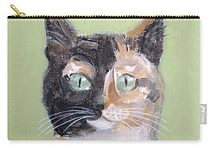 Tortie Cat Carry-all Pouch
